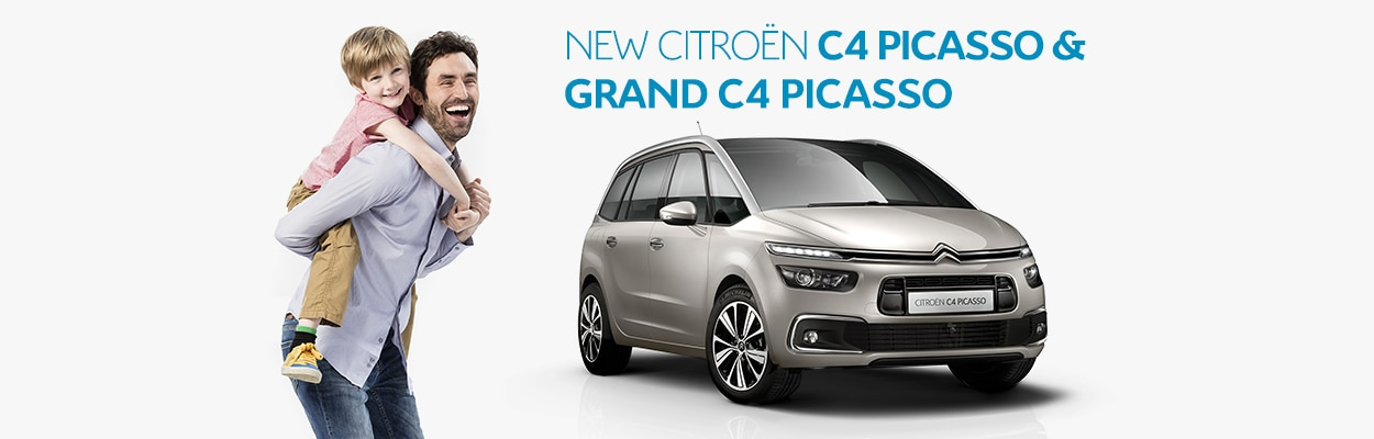 NEW CITROËN  C4 PICASOO & GRAND C4 PICASSO